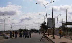 Dos camiones del Ejército venezolano fueron parqueados en zona de frontera con Paraguachón