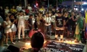 En video | Con protesta samarios rechazan muerte de Dilan Cruz y reclaman justicia