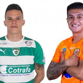 Wálmer Pacheco y Yeison Guzmán, cerquita de Junior