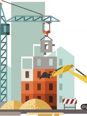 El sector constructor se reactiva gradualmente en medio de la emergencia sanitaria