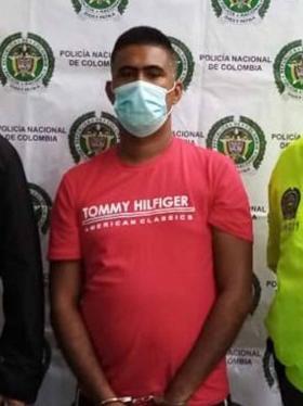 Ronald Rafael Acuña Acuña, alias, Loco Ronald, asegurado en establecimiento carcelario.
