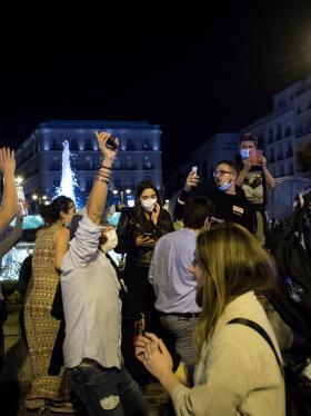 España celebra anuncio de fin de estado de alarma