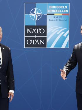 """Joe Biden, el hombre """"clave"""" en la OTAN"""