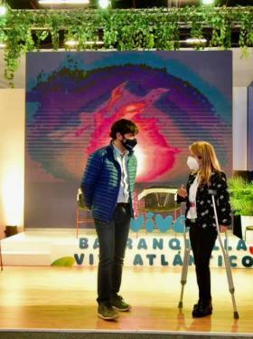 Alcalde Pumarejo y gobernadora Noguera presentes en Vitrina de Anato