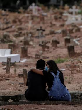 Brasil suma 868 nuevos decesos y la cifra supera las 541.000 muertes
