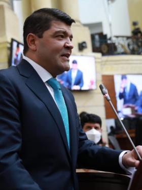 Por 93 votos fue elegido el nuevo presidente del Senado