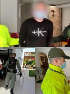 Cae el 'zar de las armas' en excéntrica rumba en Barranquilla
