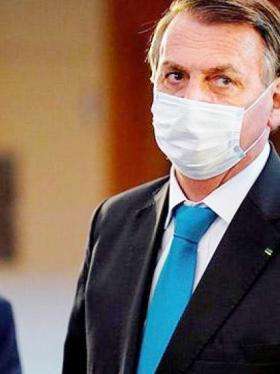 Tras regresar de las Naciones Unidas, Jair Bolsonaro da negativo para covid-19
