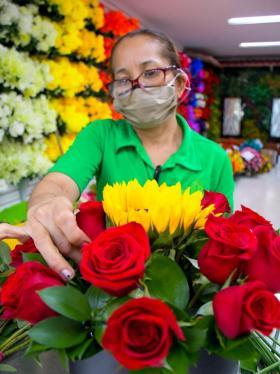 Que nunca falten flores para Mamá