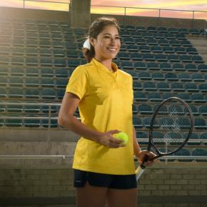 Tenista profesional Mafe Herazo