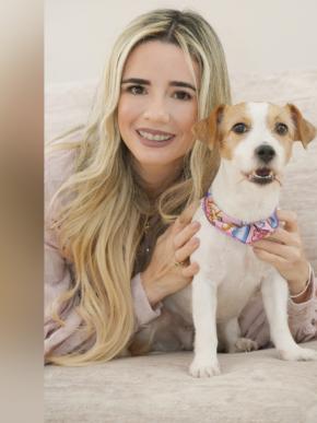 Jacky, la hija canina de Carmen Rojas