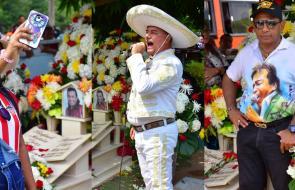 Los 'diomedistas' celebran el cumpleaños del Cacique de la Junta