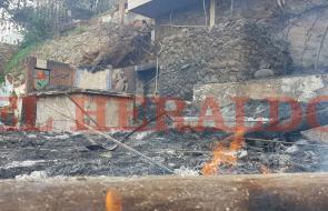 Así quedó el interior del hotel Jaba Nibue de Taganga tras voraz incendio