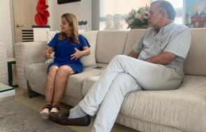 Primer encuentro entre Verano y Noguera, tras la jornada electoral