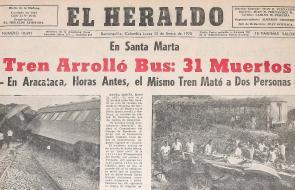 Así registró EL HERALDO hace 50 años el accidente de Mamatoco