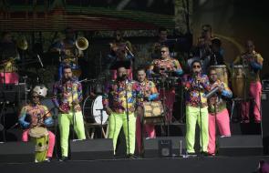 Lo mejor del Festival de Orquestas en la Plaza de la Paz
