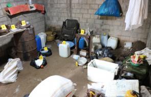 Capturan a nueve personas en laboratorio clandestino de Coca