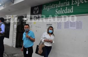 Fiscalía investiga supuestas irregularidades en Registraduría de Soledad