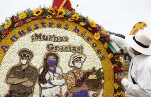 Las mejores imágenes del desfile de silleteros en Medellín