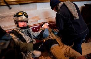 Las imágenes de la violenta irrupción al Congreso de EE.UU.