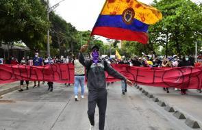 Barranquilleros se suman a jornada de protesta contra la Tributaria
