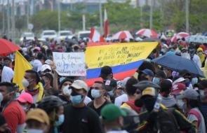 Manifestaciones de 1ro de mayo en Barranquilla