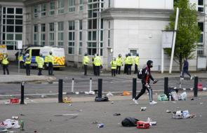 Protestas de aficionados contra los Glazer, dueños del Manchester United