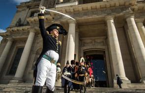 Francia conmemora el bicentenario de la muerte de Napoleón