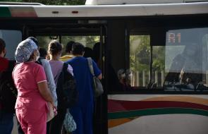 En imágenes | Transmetro vuelve a operar tras dos días de cierre