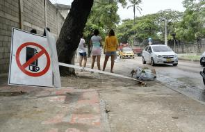 En imágenes | Los estragos de los desmanes en la calle 17