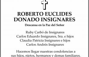 ROBERTO EUCLIDES  DONADO INSIGNARES
