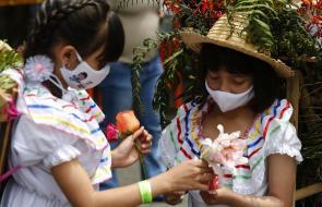 Desfile de Silleteritos, la antesala de la Feria de las Flores