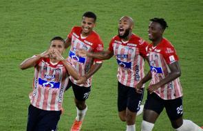 Reviva en imágenes los mejores momentos del triunfo de Junior ante Pereira