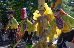 El Carnaval de Barranquilla se despidió de Madrid