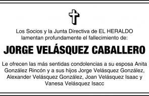 Jorge Velasquez Caballero
