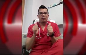 En video   El mensaje de un médico cucuteño que ayuda en España