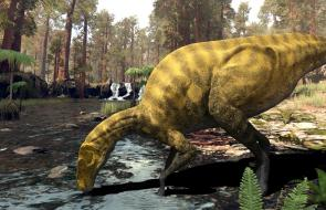 Descubren en España restos de una especie desconocida de dinosaurio