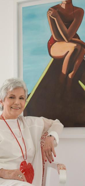 Lucy Arias y su conexión intrínseca con el arte