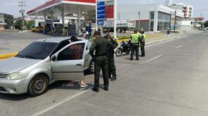 Aplicación de los controles a la ciudadanía en Córdoba por motivo de la cuarentena.