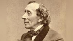 El escritor danés Hans Christian Andersen.