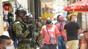 Ejército despliega la asistencia militar en Barranquilla
