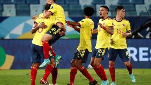Colombia vs. Ecuador en el debut de la Copa América 2021