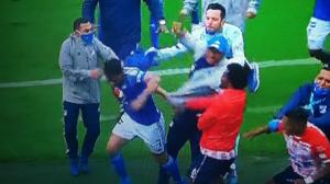 Lo sancionados por la pelea entre Millonarios y Junior