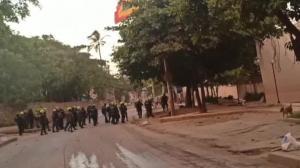 """""""Manifestantes intentaron entrar a la vieja Escuela de Policía"""": Policía"""