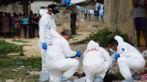 Asesinan de varios disparos a una mujer y sus dos hijos menores en el Cauca
