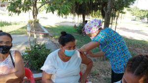 En un día, Sucre aplicó más de 7.500 dosis contra la covid-19