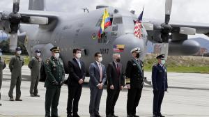Colombia recibe de EE. UU. dos aviones para combatir delitos transnacionales