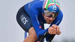 Filippo Ganna se llevó la contrarreloj individual del Mundial de Ruta