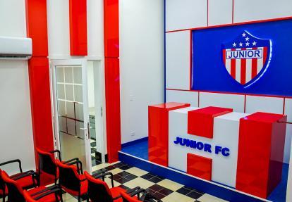 La sala de prensa que tendrá la nueva sede administrativa del cuadro rojiblanco.