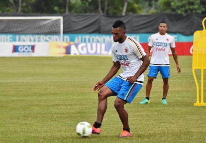 Miguel Ángel Borja, delantero de Atlético Nacional.